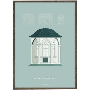 Garden pavillon  - Art print - Choose size