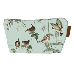 COSMETIC BAG - Birds of the garden (with bottom) - PRE-ORDER NOW