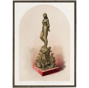 ART PRINT - Bronze statue - CHOOSE SIZE