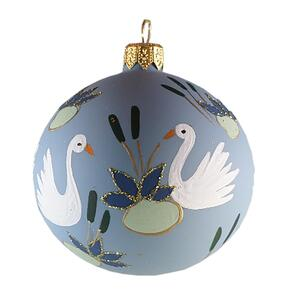 GLASS ORNAMENT - Ducklings