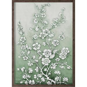 Cherry blossom green - ART PRINT - CHOOSE SIZE