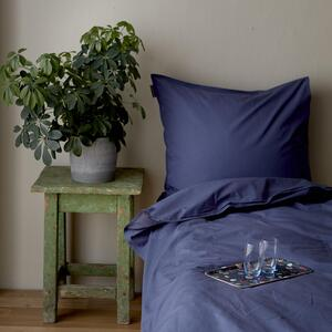 Organic bedlinen set - Dusty dark blue