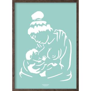 Anaana (arctic ice blue) - ART PRINT - CHOOSE SIZE