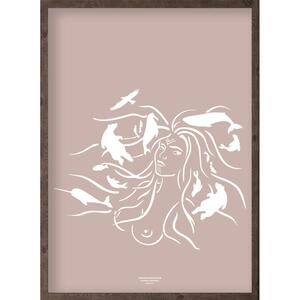 Mother of the sea (arctic girl) - ART PRINT - CHOOSE SIZE