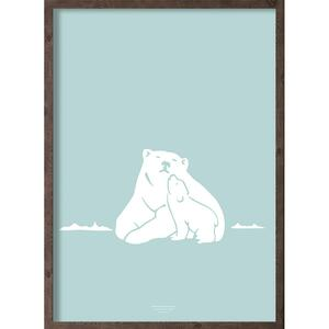 Nanoq (arctic ice blue) - ART PRINT - CHOOSE SIZE