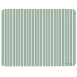 PLACEMAT - Stripes (light green)