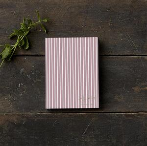 SKETCH BOOK - Stripes cherry (little)