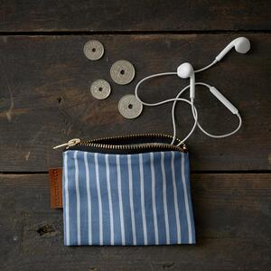 WALLET - Stripes (blue) - Pre order