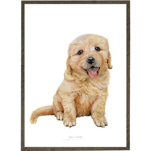 Puppy - ART PRINT - CHOOSE SIZE